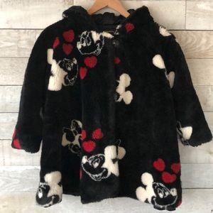 ❤️Mickey & Minnie❤️ kids faux fur coat